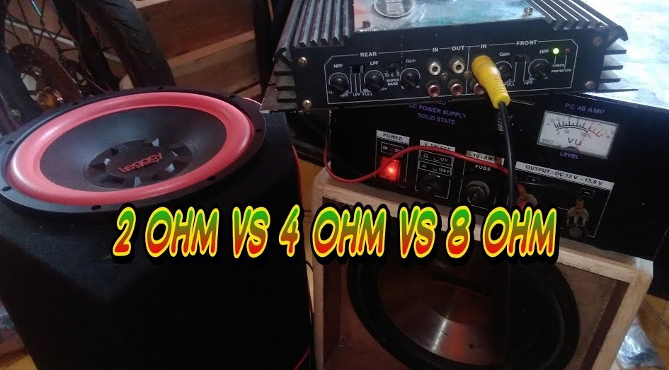 4-ohm Speaker With An 8-ohm Amp